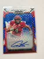 F63226 2019 Prizm Auto Prizms Red White and Blue #148 ANTOINE WESLEY/99