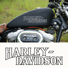 2 sticker autocollant harley davidson sportster iron reservoir moto custom skull