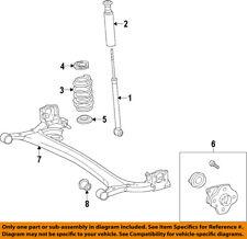 TOYOTA OEM Rear-Upper Spring Insulator 4825752010