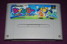 POP'N TWINBEE : RAINBOW BELL ADVENTURE - Konami - Jeu Super Famicom SNES JAP