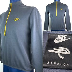 Vintage Nike Echelon Cycling Jersey Shirt Mens S 1/2 Zip Pull Over Stitched Nike