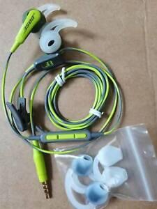 Bose SoundSport In-Ear Earphones Headset For Samsung Galaxy Energy Green