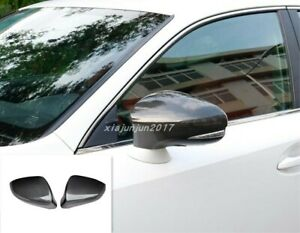 Carbon fiber Car Rearview Mirrors Cover Trim For Lexus IS200t/250/300 2017-2018
