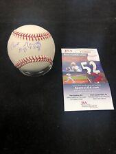 Curt Gowdy Autographed Signed Major League Baseball W/ HOF Inscription - JSA