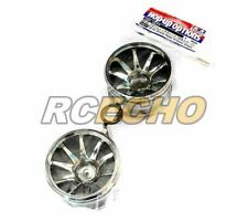 Tamiya RC Model GF-01 Chrome Plated 10-Spoke Wheels (2pcs) 54677