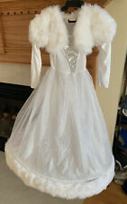 Girls Dreamy Bride Dress Little Girl Wedding Bridal Costume By Dress Up America