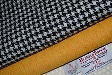 HARRIS TWEED FABRIC & LABELS - Bundles 100% wool craft sewing quilting patchwork