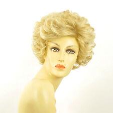 Perruque femme courte blond doré méché blond très clair  KIMBERLEY 24BT613