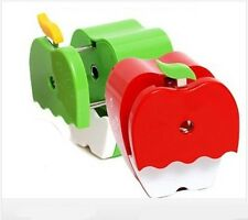 [TiTi] Pencil Sharpener apple shape character stationery for school kid gift