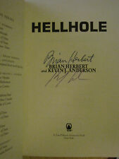SIGNED x2 Hellhole by Kevin J. Anderson & Brian Herbert