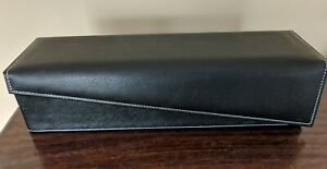 Leather wine case gift box with air pump - gift ideas - party gift idea