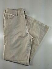 Roxy Teenie Wahine Quiksilver Girl's Tan Cotton Pants Size 14