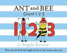 Ant and Bee Count 123 by Angela Banner (Hardback, 2015)