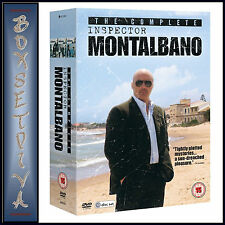 THE COMPLETE INSPECTOR MONTALBANO COLLECTION -   **BRAND NEW DVD BOXSET**