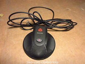 Polycom Soundstation 2 Extended Microphone Mic Pod 2201-07155-605 Sound Station