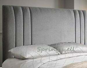 Upholstered Chenille Fabric Sidebar Cruched Headboard size 26''/30''/36''/44''