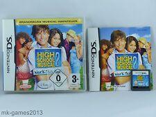 High School Musical 2: Work this Out für Nintendo DS/Lite/XL/3DS - OVP+Anl.