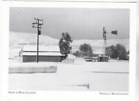 """*Postcard-""""Snow On Wine Country"""" -1968- *Temecula Wine Country (A95-2)"""