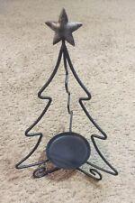 Longaberger Wrought Iron Christmas Tree Candle Holder