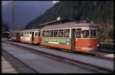 35mm slide+© ZB Zillertalbahn VT 1 (ex-RTM Sperwer) MayrhofenAustria1983original