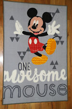 Mickey Mouse Awesome KIDS FLOOR RUG 150 x 100 cm