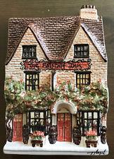 More details for rare hazle ceramics nation of shopkeepers plaque ltd ed 9/20 the falstaff inn