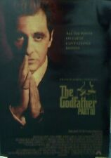 Paramount Pictures original Godfather Part Iii (part 3) movie poster 1990