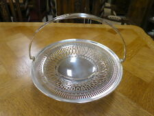 Art Deco English Made Silver Plated Serving Centre Piece