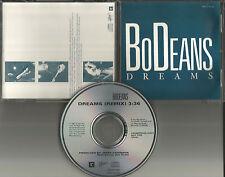 BODEANS Dreams w/ REMIX 1987 USA PROMO DJ CD Single JERRY HARRISON Talking Heads