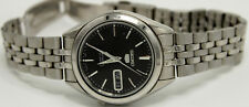 SEIKO Automatic SNKL23 (7S26-03V0) Stainless Steel Black 37mm Dial Men's Watch