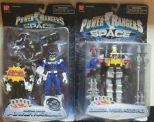 2 In Box! Power Rangers Delta Megazord in Space Rare Action Figure & Astro Blue