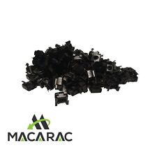 """19"""" RACK CAGE NUTS HIGH QUALITY 100 PACK (SUIT 19 INCH RACK MOUNT APPLICATION)"""