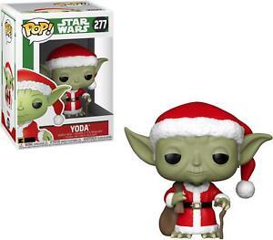Yoda Star Wars #277 Holiday Funko Movie Pop!