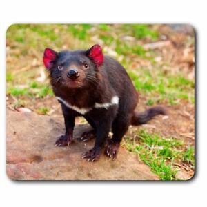Computer Mouse Mat - Cute Tasmanian Devil Animal Office Gift #2201