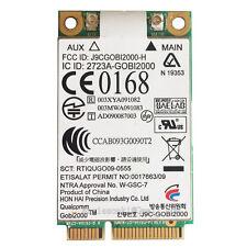 HP 2540P 2740P 8440P 8440W 8540P 8540W GOBI2000 WWAN Mobile Broadband 3G Card