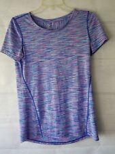 Tek Gear Women's Top Shirt Dry Tek Blue Pink Athletic Size Small S