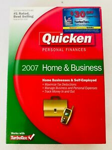 New sealed Quicken Home & Business 2007