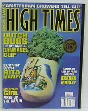 Dutch Buds 10th Annual Cannabis Cup High Times Magazine Rita Bob Marley Ganja!