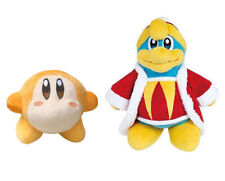 2pcs Kirby All Star Collection Waddle Dee & King Dedede Plush Doll Stuffed Toy