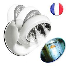 Lampe Détecteur de Mouvement Présence Lumière Led à Piles Intérieur Extérieur