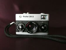 【NICE】 ROLLEI 35 S Silver 35mm Film Camera + Sonnar 40mm F/2.8 Lens, In Working