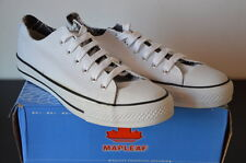 •SALDI• Sneakers Donna n.41 Modello Convers Tela White Nuovo New Made in Italy