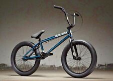 """2019 Kink Curb 20"""" BMX Bike Gloss Smoked Stang Teal Complete BMX Bicycle"""