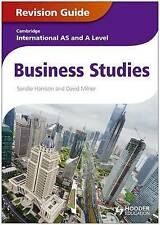 Cambridge International AS and A Level Business Studies Revision Guide by Sandie Harrison, David Milner (Paperback, 2013)