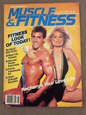 Muscle & Fitness Bodybuilding Magazine/ August 1983 /BOB PARIS