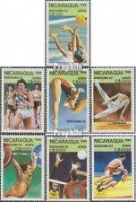 Nicaragua 2959-2965 (complète edition) neuf avec gomme originale 1989 Jeux Olymp