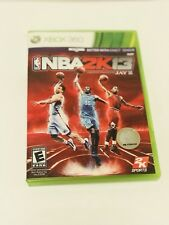 NBA 2K13 (Microsoft Xbox 360, 2012) includes game, original case and manual