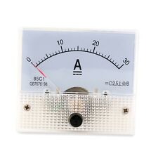 DC 30a Analog Ammeter Panel Amp Current Meter 0-30a DC Doesn't Need Shunt 3f7