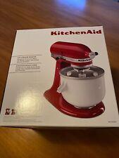 Kitchenaid Eismaschine 1 x benutzt Originalkarton Artisan
