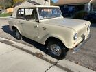 1966 International Harvester Scout Champagne Edition Sportop Very Rare and Collectable 1966 International Scout 800 Sportop Edition